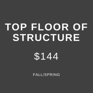 Fall/Spring Surface Lot, $144