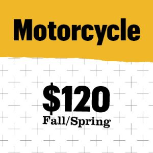 Motorcycle cost $120