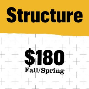 Structure cost $180
