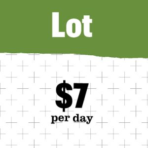 Visitor's day pass $7 per day
